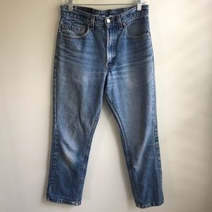 Classic Levi's with high waist and gorgeous wash